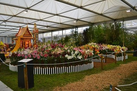 Chelsea Flower Show Attended By HW Hyde